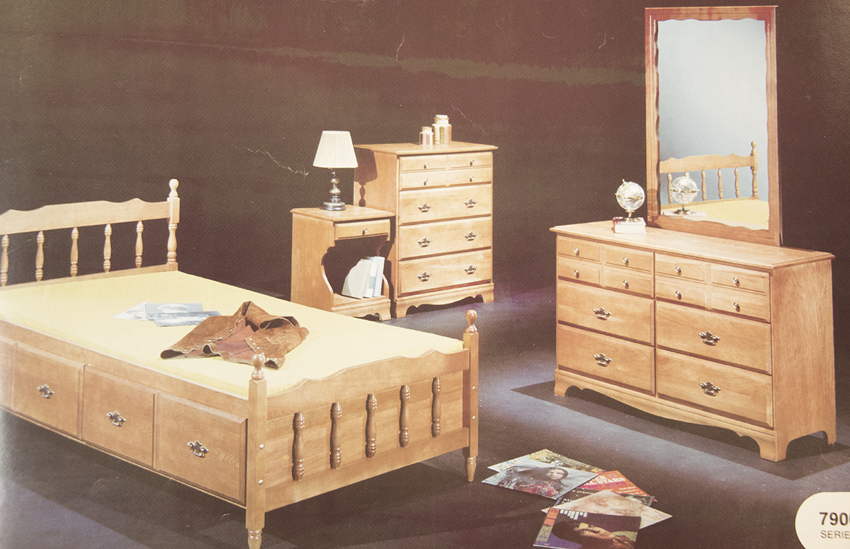 The 7900 Series DeFehr Furniture Catalogue Image